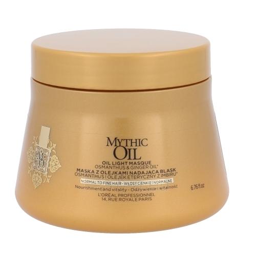 Kaukė plaukams L´Oréal Professionnel Mythic Oil Masque Normal Hair Cosmetic 200ml Paveikslėlis 1 iš 1 310820048470