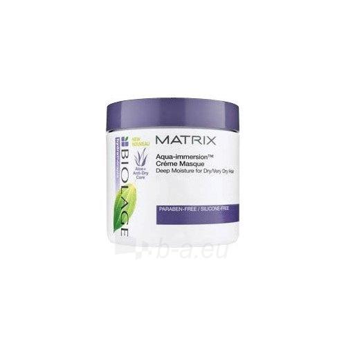 Kaukė plaukams Matrix Biolage Hydrating Aqua Creme Masque Cosmetic 150ml Paveikslėlis 1 iš 1 2508316000113