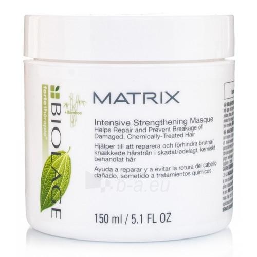 Kaukė plaukams Matrix Biolage Intensive Strengthening Mask Cosmetic 150ml Paveikslėlis 1 iš 1 2508316000217