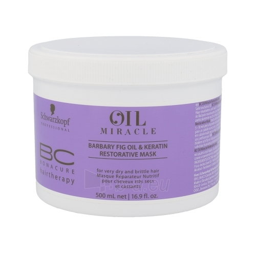 Schwarzkopf BC Bonacure Oil Miracle Barbary Fig & Keratin Mask Cosmetic 500ml Paveikslėlis 1 iš 1 2508316000355