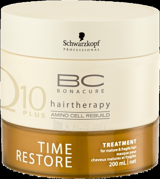 Schwarzkopf BC Bonacure Time Restore Treatment Cosmetic 200ml Paveikslėlis 1 iš 1 2508316000101