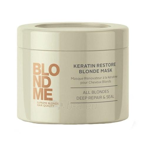Schwarzkopf Blond Me Keratin Restore Blonde Mask Cosmetic 200ml Paveikslėlis 1 iš 1 2508316000340