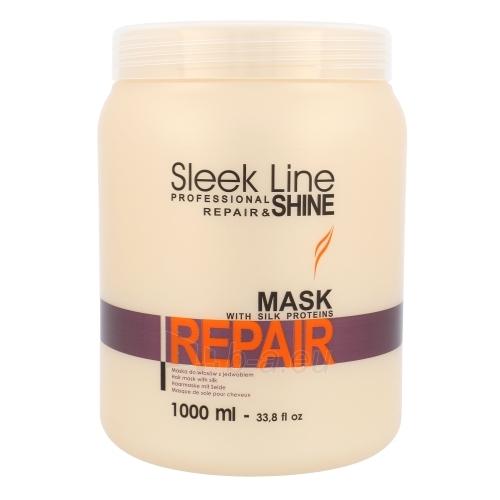 Kondicionierius plaukams Stapiz Sleek Line Repair Mask Cosmetic 1000ml Paveikslėlis 1 iš 1 2508316000404