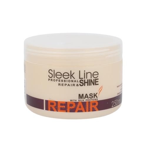 Kaukė plaukams Stapiz Sleek Line Repair Mask Cosmetic 250ml Paveikslėlis 1 iš 1 2508316000434