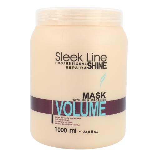 Kaukė plaukams Stapiz Sleek Line Volume Mask Cosmetic 1000ml Paveikslėlis 1 iš 1 2508316000409
