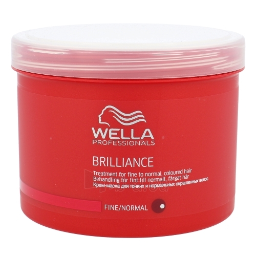 Wella Brilliance Mask Normal Hair Cosmetic 500ml Paveikslėlis 1 iš 1 2508316000135