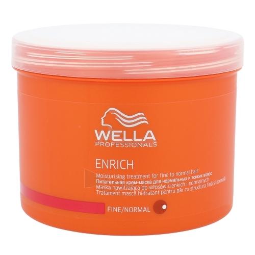 Kaukė plaukams Wella Enrich Mask Normal Hair Cosmetic 500ml Paveikslėlis 1 iš 1 2508316000139