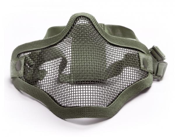 Kaukė Stalker AEG Lower Half Metal - Olive Paveikslėlis 1 iš 1 310820250903