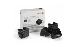 Kauliukai Xerox Solid Ink 4 Black | 8600 psl. | ColorQube 8570 Paveikslėlis 1 iš 1 2502560201731