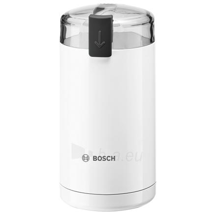 Kavamalė Bosch Coffee Grinder TSM6A011W White, 180 W, 75 g Paveikslėlis 1 iš 4 310820219954