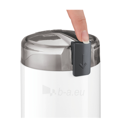 Kavamalė Bosch Coffee Grinder TSM6A011W White, 180 W, 75 g Paveikslėlis 2 iš 4 310820219954