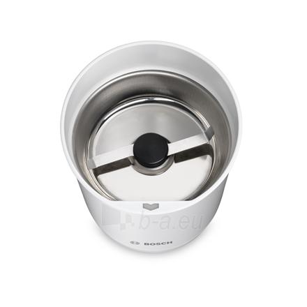 Kavamalė Bosch Coffee Grinder TSM6A011W White, 180 W, 75 g Paveikslėlis 3 iš 4 310820219954
