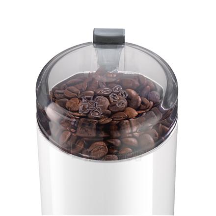 Kavamalė Bosch Coffee Grinder TSM6A011W White, 180 W, 75 g Paveikslėlis 4 iš 4 310820219954