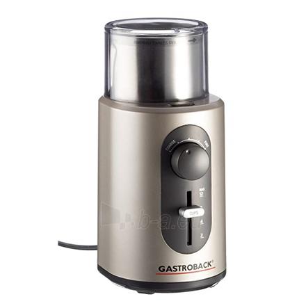af9854f91b3 Kavamalė Gastroback Coffee Grinder Basic Stainless steel, 270 W, Number of  cups 12 pc