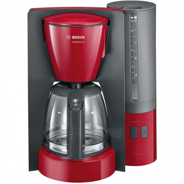 Coffee maker Coffee maker Bosch TKA6A044 | red Paveikslėlis 1 iš 1 310820144349
