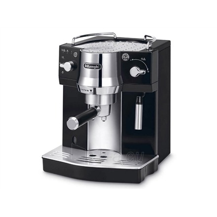 Coffee maker Delonghi Coffee maker EC 820.B Pump pressure 15 bar, Semi-automatic, 1450 W, Black Paveikslėlis 1 iš 4 310820224208