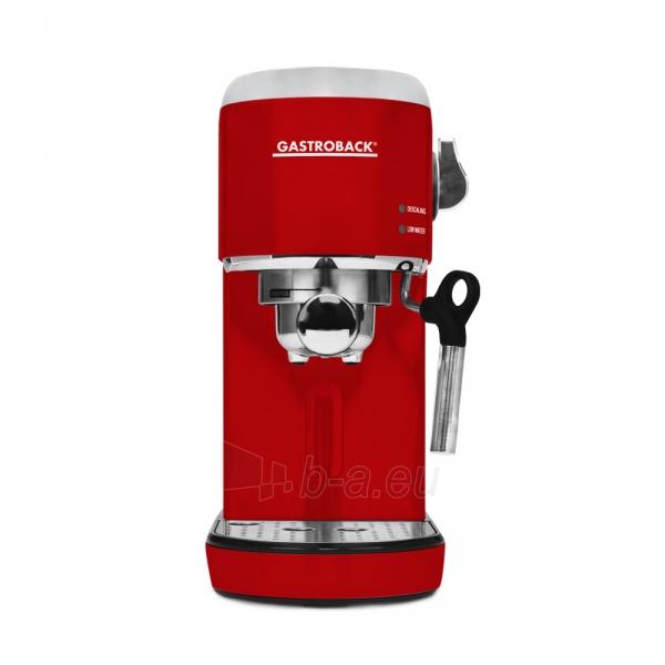 Kavos aparatas Gastroback 42719 Design Espresso Piccolo red Paveikslėlis 1 iš 7 310820229183