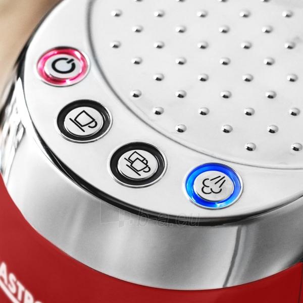 Kavos aparatas Gastroback 42719 Design Espresso Piccolo red Paveikslėlis 3 iš 7 310820229183