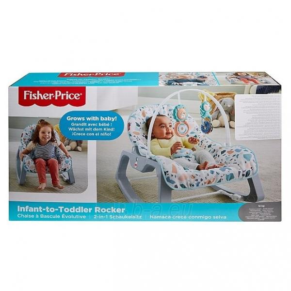 Kėdutė GNP99 Fisher-Price Infant-to-Toddler Rocker Paveikslėlis 6 iš 6 310820230497
