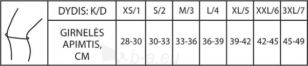 Kelio įtvaras KA3-2-1R PILKAS Paveikslėlis 2 iš 2 310820205723