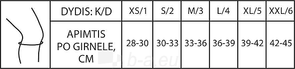 Kelio įtvaras KT3-2R pilkas Paveikslėlis 2 iš 2 310820205715