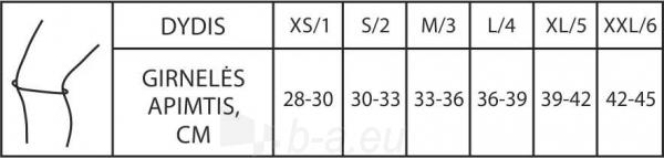 Kelio įtvaras KT3-3-1R (šildantis) Paveikslėlis 2 iš 2 310820205721