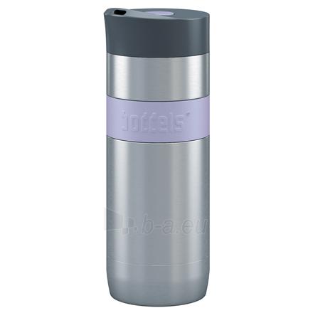 Kelioninis puodelis Boddels KOFFJE 370 ml Lavender blue Paveikslėlis 1 iš 1 310820216146