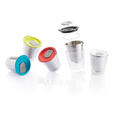 Kelioninis puodelis Dia, baltas Paveikslėlis 5 iš 5 310820012598