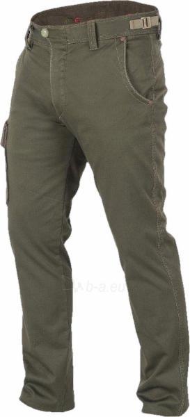 Kelnės Kelnės Graff 760-P Olive Paveikslėlis 1 iš 1 251510400159