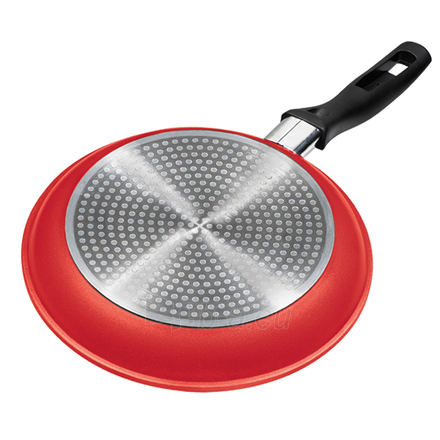 Keptuvė Stoneline Gourmundo pan 18254 Frying, Diameter 28 cm, Suitable for induction hob, Fixed handle, Red Paveikslėlis 2 iš 2 310820223029