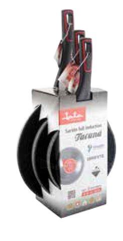 Keptuvių rinkinys Jata SF3182226 Tacana set 18cm + 22cm + 26cm Paveikslėlis 1 iš 5 310820235567