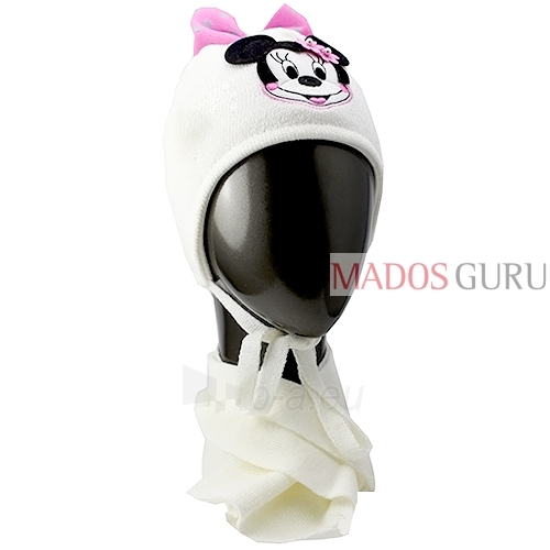 Kepurė ir šalikas mergaitei VK099 Paveikslėlis 1 iš 3 301162000150