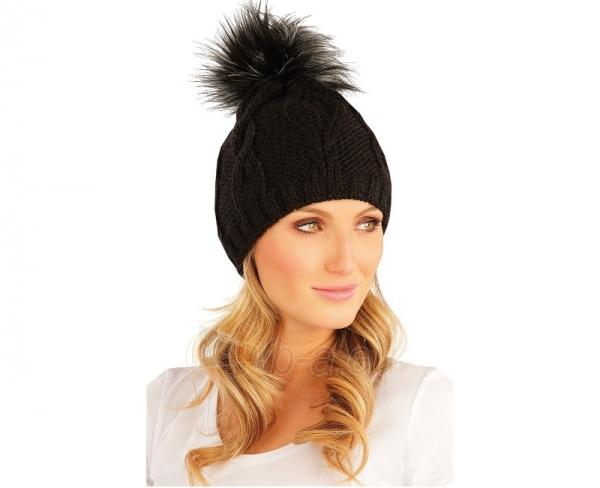 Kepurė Litex moteriška, žieminė 87475 Paveikslėlis 1 iš 1 301162000076
