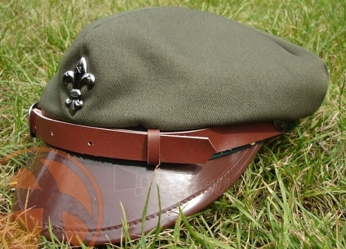 Kepurė skautų ZHP green Paveikslėlis 1 iš 1 251510700138