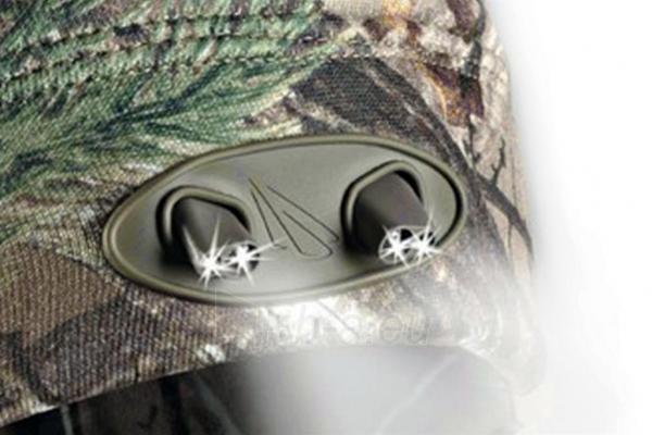 Kepurė su lemputėmis PowerNeed Sunen POWERCAP Headlamp Beanie LED, camo Paveikslėlis 2 iš 6 310820072812
