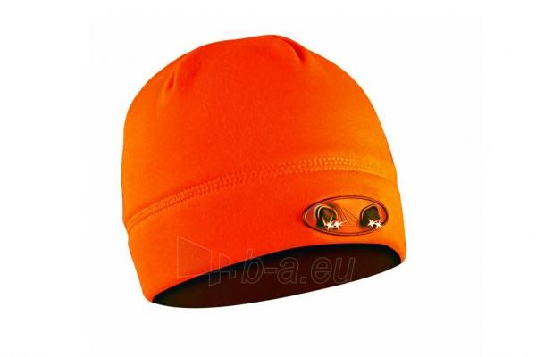 Kepurė su lemputėmis PowerNeed Sunen POWERCAP Headlamp Beanie LED, orange Paveikslėlis 1 iš 6 310820072811