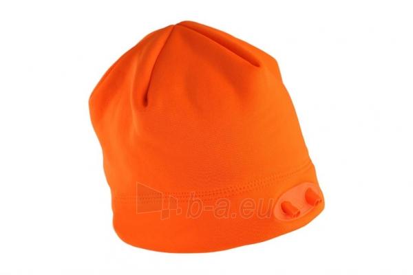 Kepurė su lemputėmis PowerNeed Sunen POWERCAP Headlamp Beanie LED, orange Paveikslėlis 3 iš 6 310820072811