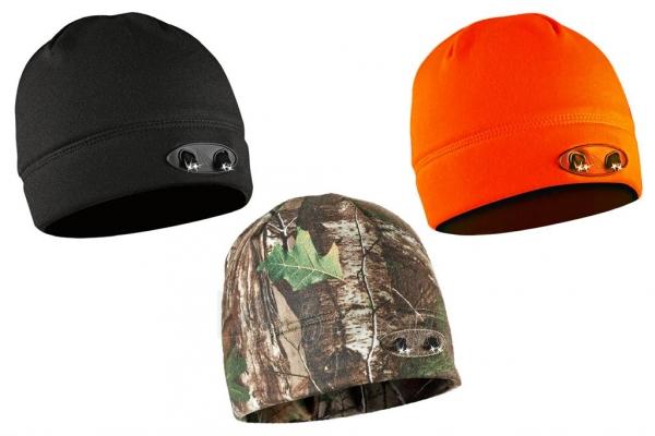 Kepurė su lemputėmis PowerNeed Sunen POWERCAP Headlamp Beanie LED, orange Paveikslėlis 6 iš 6 310820072811