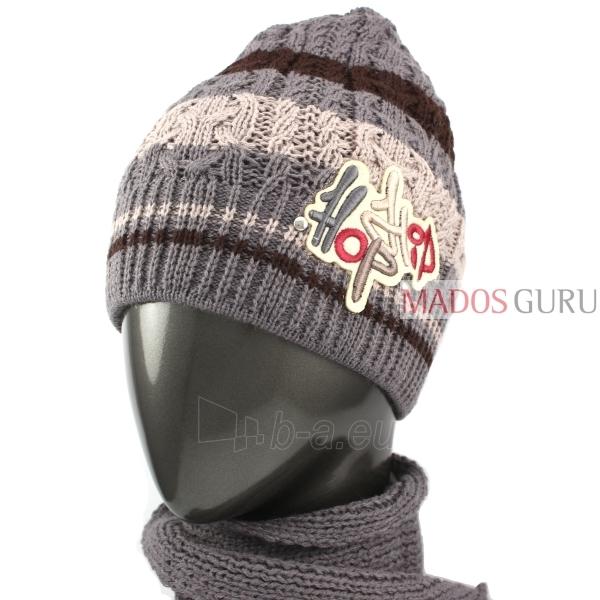 Kepurės ir šaliko komplektas VK057 Paveikslėlis 2 iš 4 301162000157