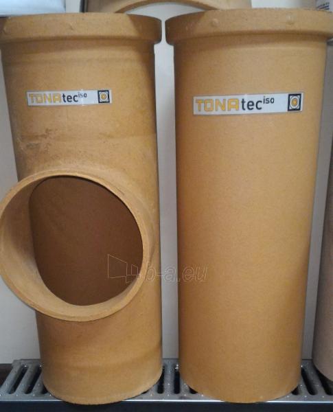 Keramikinis 2 kanalų dūmtraukis TONA Tec Iso 4m/Ø180mm+180mm Paveikslėlis 5 iš 5 310820044018