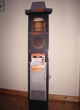 Keramikinis dūmtraukis TONA Tec Iso 4m/Ø200 mm Paveikslėlis 3 iš 4 310820043410