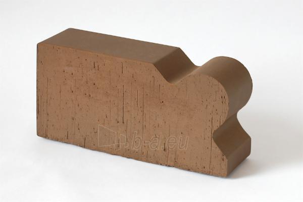 Keraminė pilnavidurė figūrinė apdailos plyta Lode 'Brunis F20' 250x120x65 Paveikslėlis 1 iš 1 310820036311