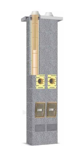 Keraminis kaminas SCHIEDEL Rondo Plus 4m/200mm+200mm. Paveikslėlis 1 iš 5 310820048065