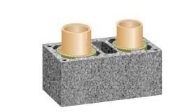 Keraminis kaminas SCHIEDEL Rondo Plus 7m/200+V+140 mm. Paveikslėlis 5 iš 5 310820049047
