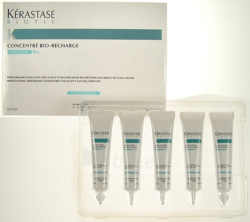 Kerastase Biotic Concentré Bio Recharge 5 x 15ml Cosmetic 75ml Paveikslėlis 1 iš 1 250832400008