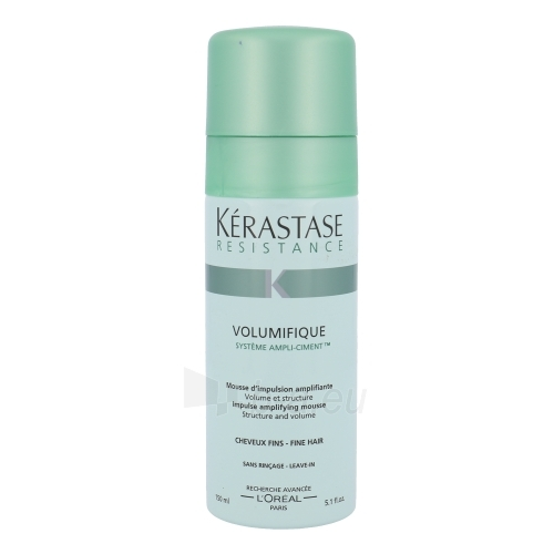 Kerastase Resistance Volumifique Impulse Amplifying Mousse Cosmetic 150ml Paveikslėlis 1 iš 1 250832500500