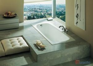 Ketinė vonia Continental 100x70 Paveikslėlis 2 iš 4 270716000767