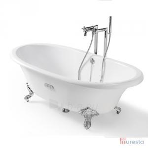 Ketinė vonia Newcast 170x85 balta su kojomis Paveikslėlis 2 iš 6 270716000770