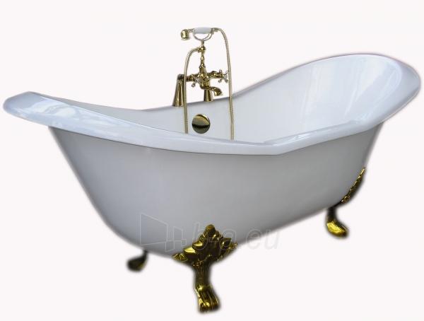 Ketinė vonia su liūto kojom 30007 (geltonos kojos) Paveikslėlis 1 iš 8 270716000606