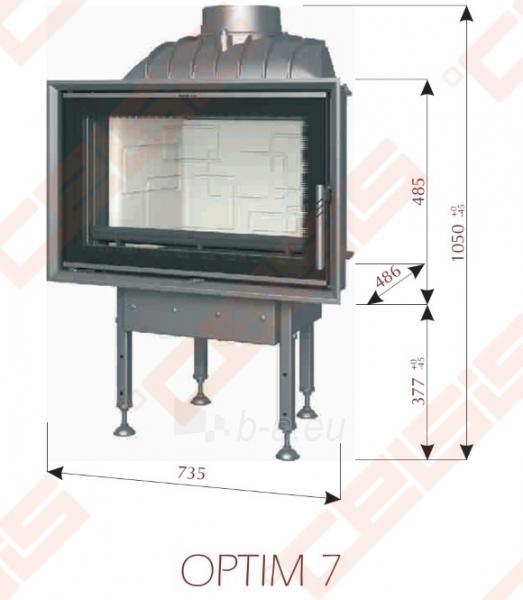 ketinis  u017eidinio ugniakuras bef home optim 7  735 x 1050 x fireplace boilers Cooking Fireplace